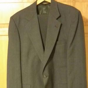 Palm Beach Navy Stripe Suit TRADITIONAL CUT